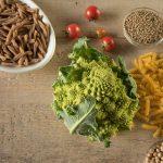 pasta di mais, pasta di farro, cavolo, legumi, pomodoro, ceci e lenticchie